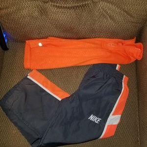 Boys size 4 Jumping Beans Shirt/Nike Pants